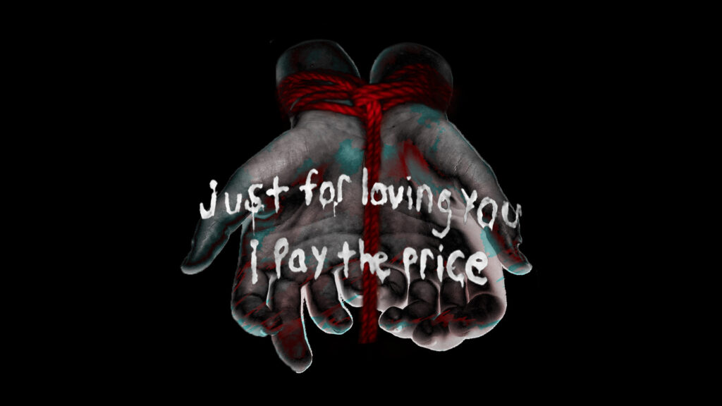 just for loving you i pay the price